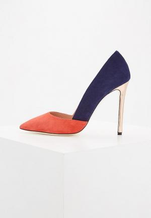Туфли Pollini. Цвет: разноцветный