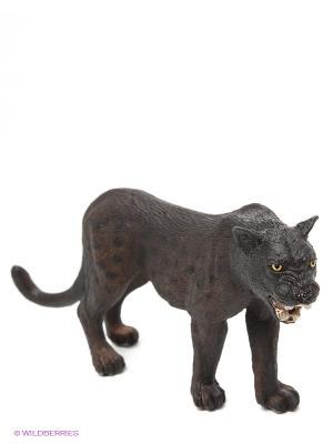 Черная пантера SCHLEICH. Цвет: черный