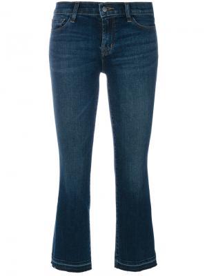 Укороченные брюки J Brand. Цвет: синий