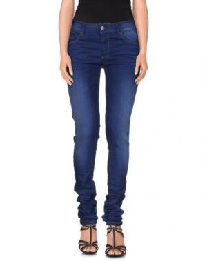 Джинсовые брюки RED SOUL. Цвет: синий
