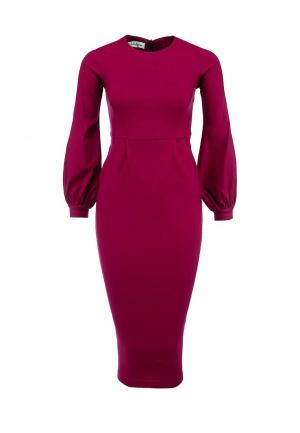 Платье Tutto Bene. Цвет: фуксия