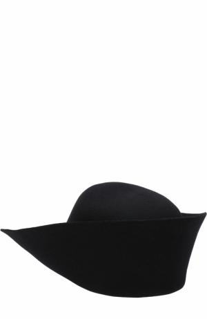 Фетровая шляпа Jacquemus. Цвет: черный