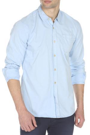 Рубашка Scotch&Soda. Цвет: light blue, светло-синий
