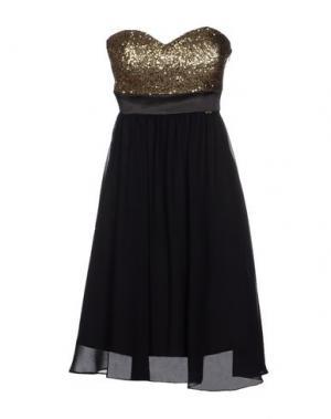 Короткое платье HANNY DEEP. Цвет: черный
