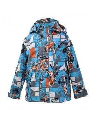 Куртка HUPPA. Цвет: голубой