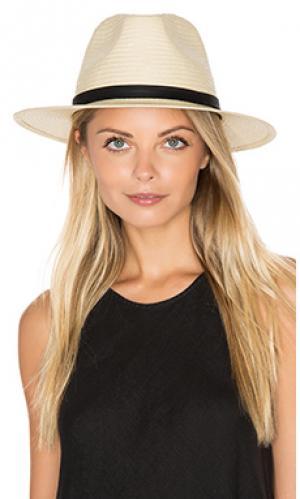 Шляпа pacific Brixton. Цвет: цвет загара