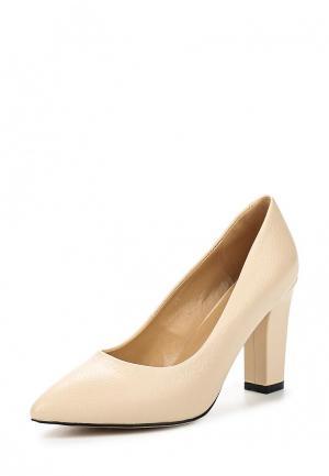 Туфли Zenden Woman. Цвет: бежевый