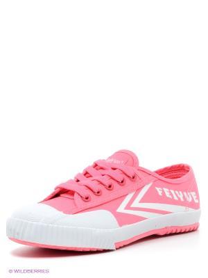 Кеды Feiyue. Цвет: розовый, белый