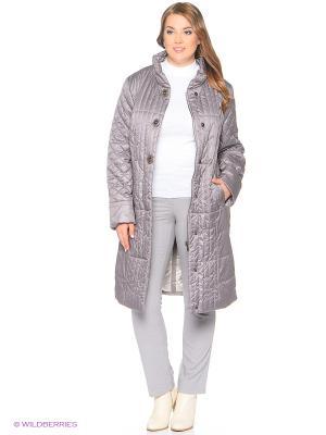 Утепленное пальто MONTSERRAT. Цвет: сиреневый