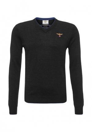 Пуловер Aeronautica Militare. Цвет: серый