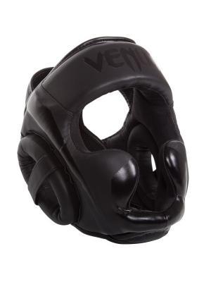 Шлем боксерский Venum Elite Neo Black. Цвет: черный
