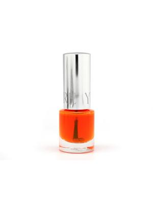 Лак для ногтей GLAMOUR  (усилитель цвета Aquarelle), тон 85 YLLOZURE. Цвет: оранжевый