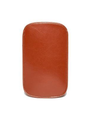 Чехол для IPhone 5/6 Коричневый (кожа) Mitya Veselkov. Цвет: коричневый