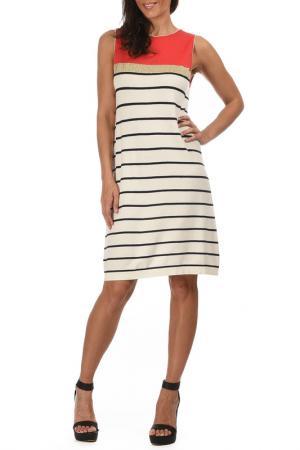 Платье George Rech. Цвет: белый