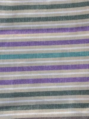 Полотенце лен/хлопок, набор 2 шт. 50*70см Letto. Цвет: белый, бежевый, фиолетовый
