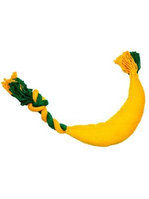 Банан макси  текстильная игрушка JOY. Цвет: синий, желтый, зеленый