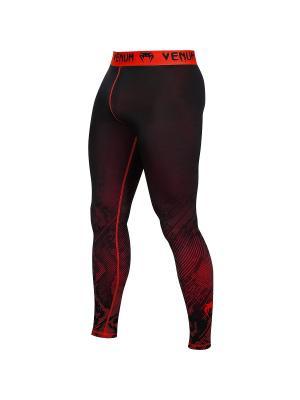 Компрессионные тайтсы Venum Fusion Compression Spats - Black Red. Цвет: красный