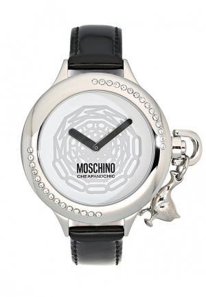 Часы Moschino. Цвет: черный