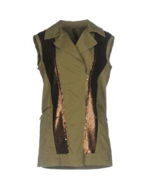 Куртка MANILA GRACE. Цвет: зеленый-милитари