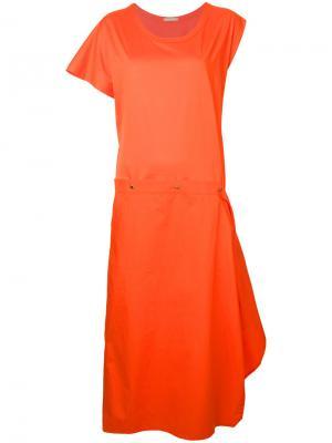 Dash dress Nehera. Цвет: жёлтый и оранжевый