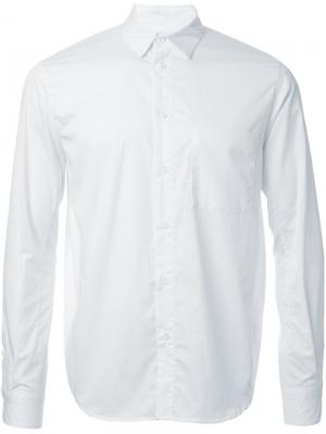 Рубашка в полоску 08Sircus. Цвет: белый