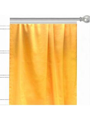 Однотонная штора Лючия Altali. Цвет: желтый