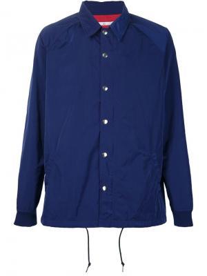 Куртка Coach 321. Цвет: синий