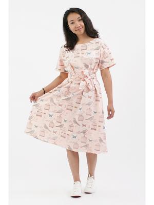 Платье №1 винтажное розовое (KW5) MONOROOM