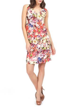 Платье Jones. Цвет: multicolor