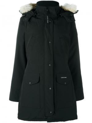 Пальто Trillium Canada Goose. Цвет: чёрный