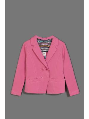 Пиджак ЕМАЕ. Цвет: розовый