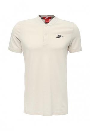 Толстовка Nike. Цвет: бирюзовый