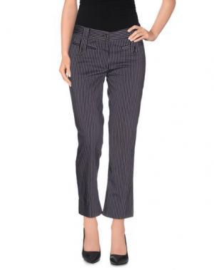 Повседневные брюки METRADAMO. Цвет: темно-фиолетовый