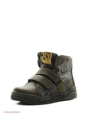 Ботинки Kakadu. Цвет: хаки