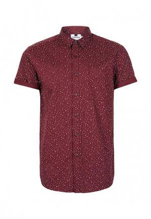 Рубашка Topman. Цвет: бордовый