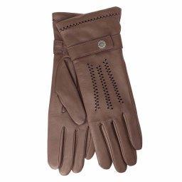 Перчатки  NEW_CELINE/A серо-коричневый AGNELLE