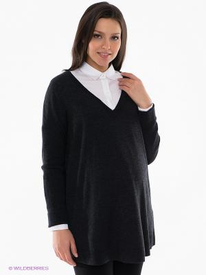 Пуловер Isabella Oliver. Цвет: темно-серый