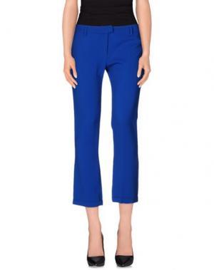 Повседневные брюки JUST CAVALLI. Цвет: синий