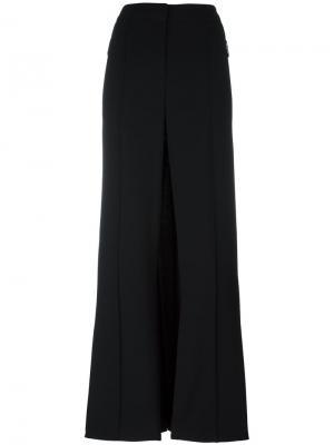 Широкие брюки Barbara Bui. Цвет: чёрный