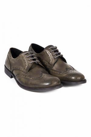 Boots Trussardi Collection. Цвет: dark brown