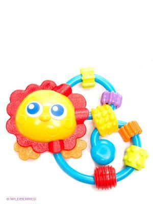 Игрушка-погремушка Playgro. Цвет: желтый, голубой, красный