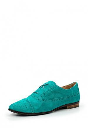 Ботинки Calipso. Цвет: бирюзовый
