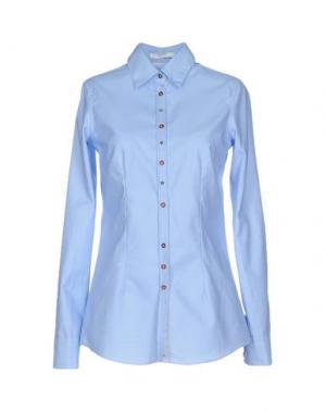 Pубашка AGLINI. Цвет: небесно-голубой