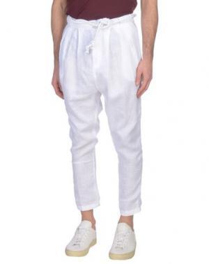 Повседневные брюки TAKESHY KUROSAWA. Цвет: белый
