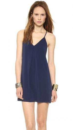 Платье Fierra alice + olivia. Цвет: темно-синий