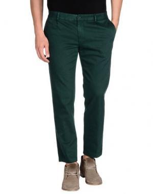 Повседневные брюки GREY DANIELE ALESSANDRINI. Цвет: зеленый
