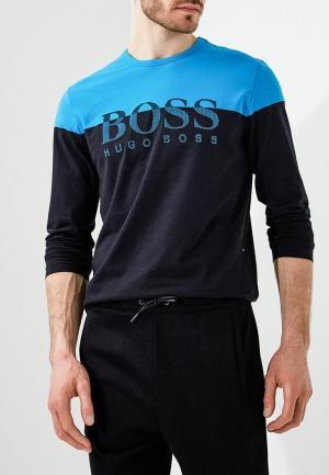Лонгслив Boss Hugo. Цвет: черный
