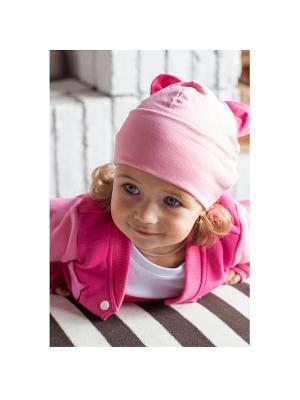 Шапочки с ушками МИШКА Yuumi. Цвет: розовый