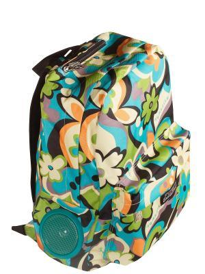 Рюкзак Fydelity. Цвет: голубой, оранжевый
