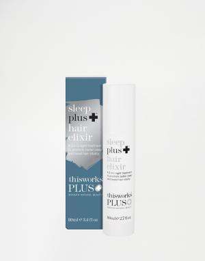 This works Эликсир для волос Sleep Plus 80 мл от. Цвет: бесцветный